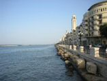 A photo of Bari port