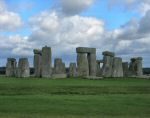 A photo of the rocks of Stonehenge